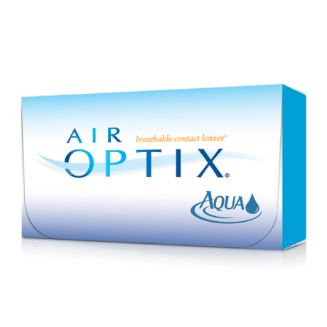 air optix aqua contact lens