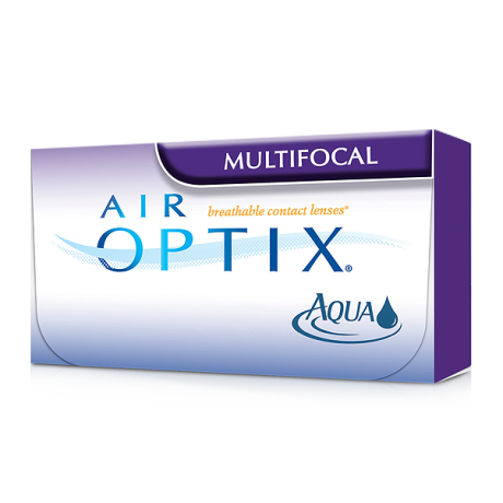 air optix multifocal contact lens