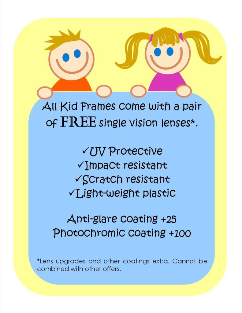Kids Children Frames Glasses